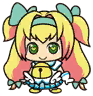 Eat Beat Dead Spike-san Platinum the Trinity Chibi 01.png