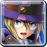 BlazBlue Chrono Phantasma Carl Clover Icon.png