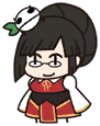 Eat Beat Dead Spike-san Litchi Faye-Ling Chibi 01.png