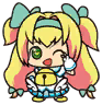 Eat Beat Dead Spike-san Platinum the Trinity Chibi 02.png