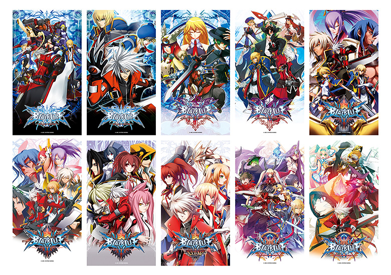 BlazBlue Sound Complete Box Postcards.jpg
