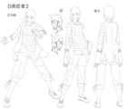 XBlaze Akio Osafune Model Sheet 02.png