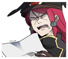 BlazBlue Blue Radio Sticker 095.png