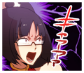 BlazBlue Blue Radio Sticker 147.png