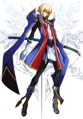 BlazBlue Continuum Shift 2 Mobile Cover(Jin).png
