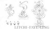 BlazBlue Litchi Faye-Ling Motion Storyboard 01.png