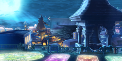 BlazBlue Lakeside Port Night Background(B).png