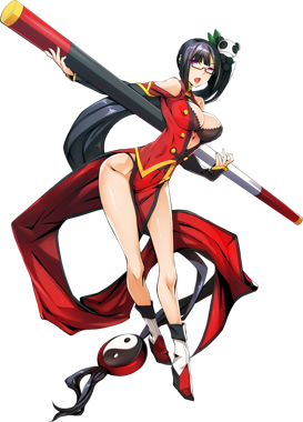 BlazBlue Central Fiction Litchi Faye-Ling Main.png