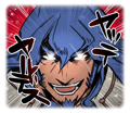 BlazBlue Blue Radio Sticker 020.png