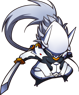 BlazBlue Central Fiction Hakumen Chibi.png