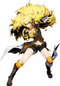 BlazBlue Cross Tag Battle Yang Xiao Long Main.png