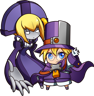 BlazBlue Central Fiction Carl Clover Chibi.png