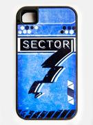 Eighty Sixed BlazBlue - Sector 7 Phone Case Blue.jpg