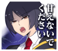 BlazBlue Blue Radio Sticker 054.png