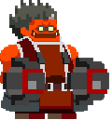 BlazBlue Iron Tager Lobby Avatar Smile.png