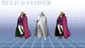 BlazBlue Relius Clover 3D Model.png