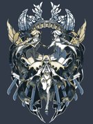 Eighty Sixed BlazBlue - Murakumo T-shirt.png