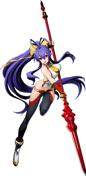 BlazBlue Cross Tag Battle Mai Natsume Main.png