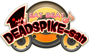 https://blazblue.wiki/images/thumb/6/65/Eat_Beat_Dead_Spike-san_Logo%28English%29.png/300px-Eat_Beat_Dead_Spike-san_Logo%28English%29.png