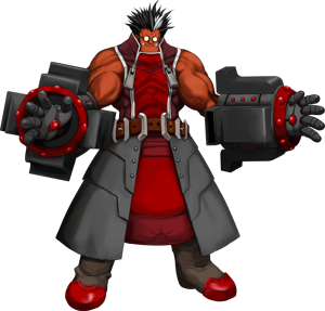BlazBlue Calamity Trigger Iron Tager Main.png