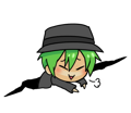 BlazBlue Blue Radio Sticker 006.png