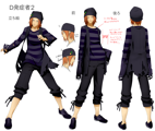 XBlaze Akio Osafune Model Sheet 01.png