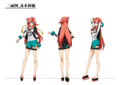 XBlaze Ringo Akagi Model Sheet 01.png