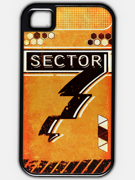 Eighty Sixed BlazBlue - Sector 7 Phone Case Orange.png