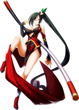 BlazBlue Chrono Phantasma Litchi Faye-Ling Main.png