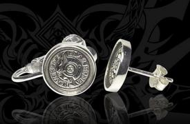GamSyrup BlazBlue 10th Anniversary Silver Pierce and Earring.jpg