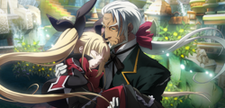 BlazBlue Central Fiction Valkenhayn R Hellsing Arcade 01.png