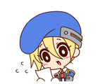 BlazBlue Blue Radio Sticker 077.png
