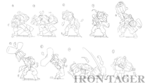 BlazBlue Iron Tager Motion Storyboard 01.png