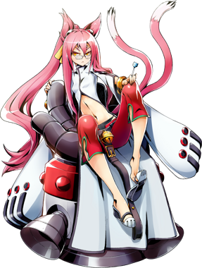 BlazBlue Central Fiction Kokonoe Main.png