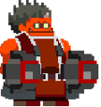 BlazBlue Iron Tager Lobby Avatar Sleep.png