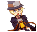 BlazBlue Blue Radio Sticker 183.png