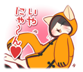 BlazBlue Blue Radio Sticker 099.png