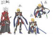 BlazBlue Jin Kisaragi Model Sheet 03.jpg