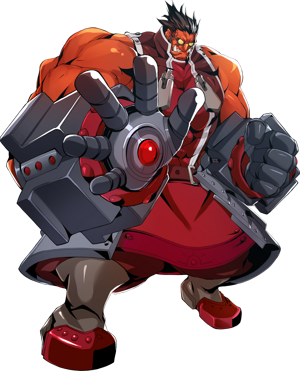 BlazBlue Central Fiction Iron Tager Main.png