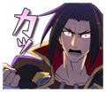 BlazBlue Blue Radio Sticker 175.png