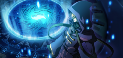 BlazBlue Central Fiction Relius Clover Arcade 02.png