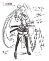 BlazBlue Mai Natsume Concept 01.png