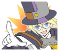 BlazBlue Blue Radio Sticker 052.png