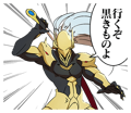 BlazBlue Blue Radio Sticker 127.png
