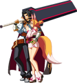 BlazBlue Central Fiction Kagura Mutsuki Sprite Intro 04.png