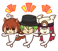 BlazBlue Blue Radio Sticker 007.png