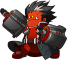 BlazBlue Central Fiction Iron Tager Chibi.png