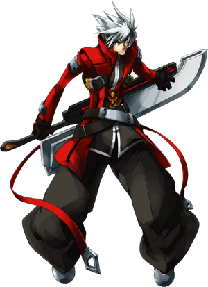 BlazBlue Continuum Shift Ragna the Bloodedge Main.png
