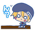 BlazBlue Blue Radio Sticker 083.png