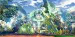 BlazBlue Hanging Gardens Background.png